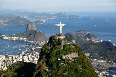 Canvas print Rio de janeiro - Corcovado