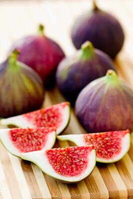 Canvas print Ripe Fig Fruits