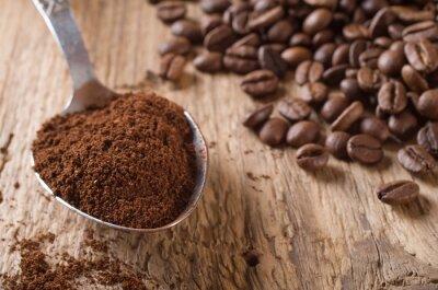 Canvas print Roasted coffee