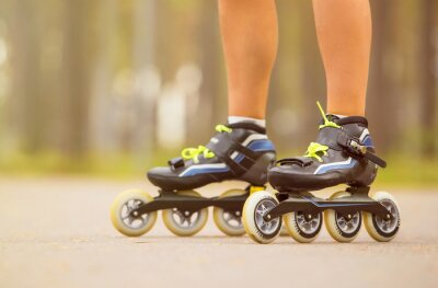 Canvas print Roller skates