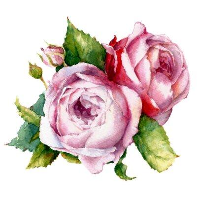 Canvas print roses