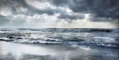 Canvas print Rough sea