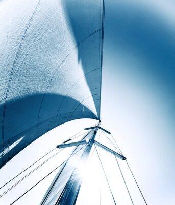 Canvas print Sail background