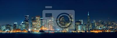 Canvas print San Francisco skyline