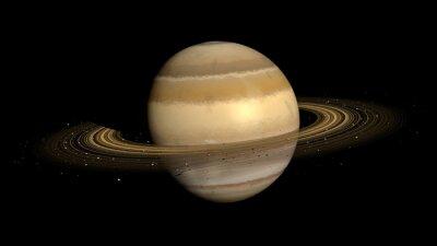 Canvas print Saturn