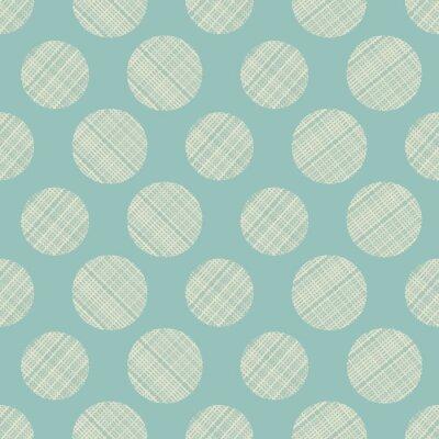 Canvas print seamless circles abstract ornament