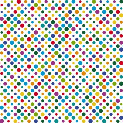 Canvas print seamless dots background