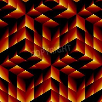Canvas print Seamless geometric pattern