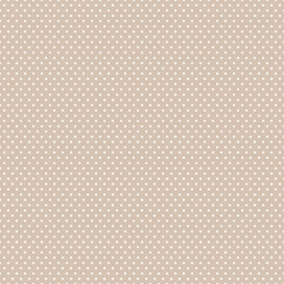 Canvas print Seamless Polka dot background.