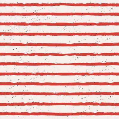 Canvas print seamless stripes pattern