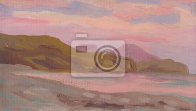 Seascape. Oil painting