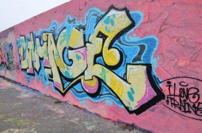 Canvas print Segment de mur à Berlin