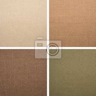 Set from backgrounds of textile texture