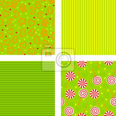 set of backgrounds for christmas, vector illustration
