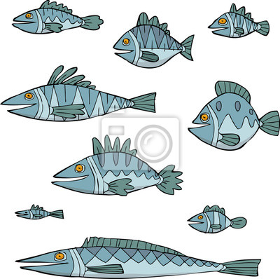 Set the fish