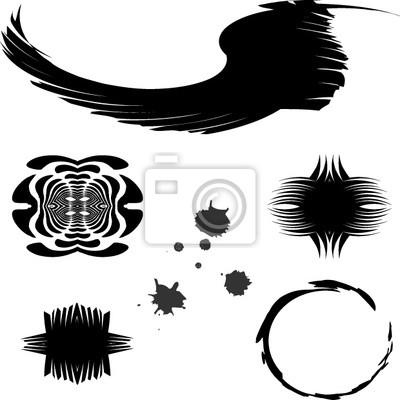 Canvas print shapes