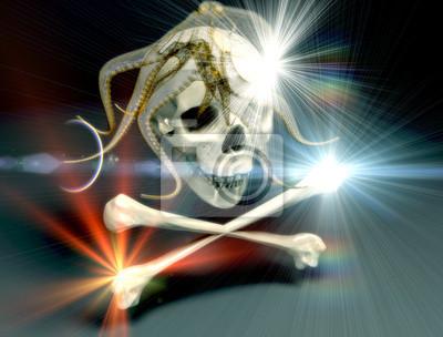 skull and crossbones - chimeras dreams
