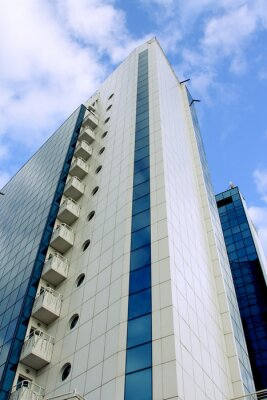Canvas print skyscraper