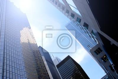 Canvas print skyscrapers