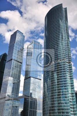 Canvas print Skyscrapers.