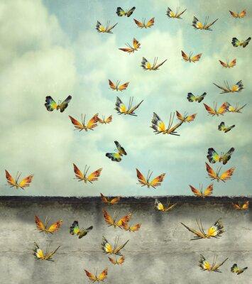 Canvas print Skyward