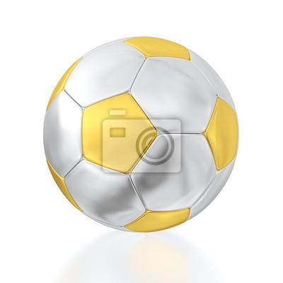 Canvas print soccer ball