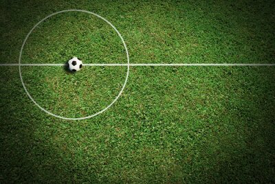 Canvas print Soccer ball football sport