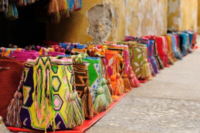 Canvas print Souvenirs from Colombia