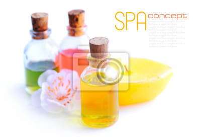 SPA still life with essential oil