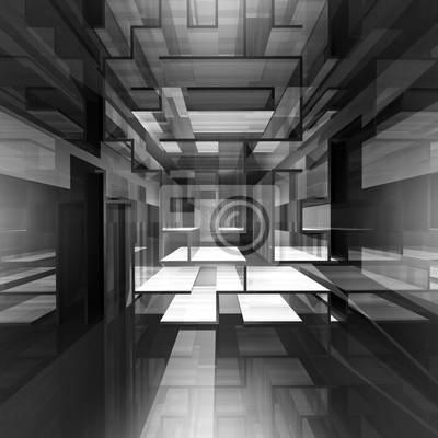 Canvas print Space