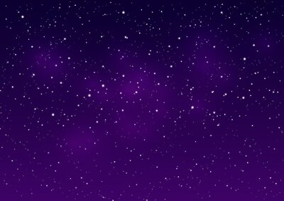 Canvas print Space background for Your design