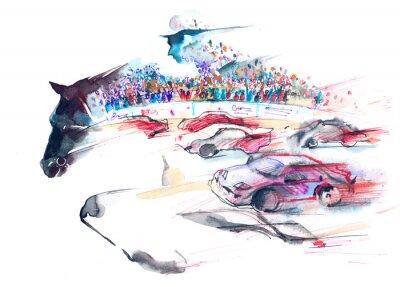 Canvas print speed