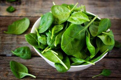Canvas print spinach