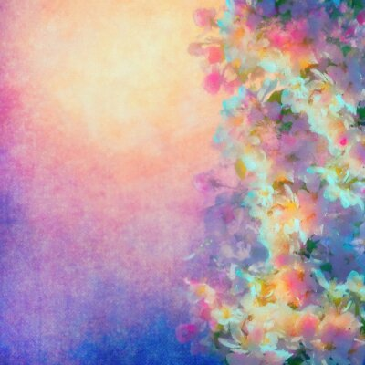 Canvas print Spring Cherry Blossom