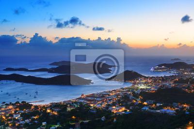 St Thomas sunset