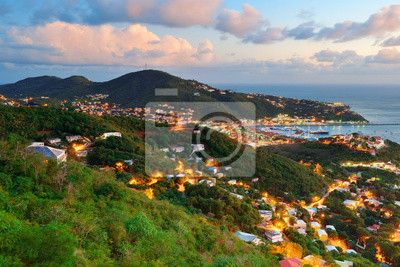 Canvas print St Thomas sunset