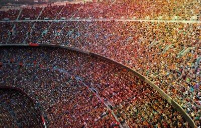 Canvas print Stadium
