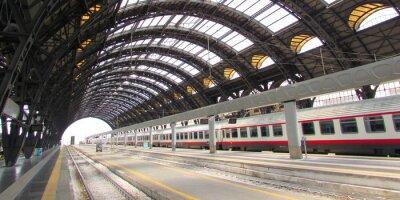 Canvas print Stazione Centrale di Milano