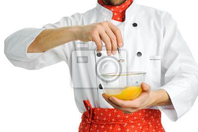 Stirring an egg