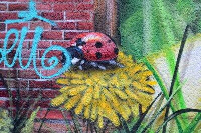 Canvas print Street art dans les rues de Berlin