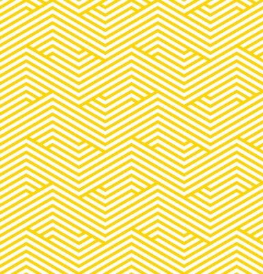 Canvas print striped geometric pattern