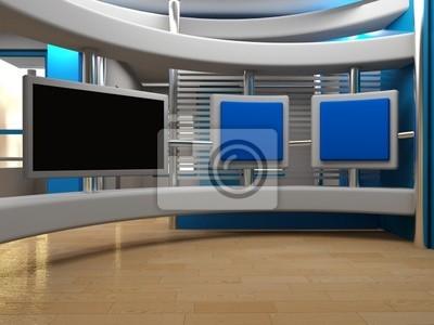 Canvas print Studio  tv