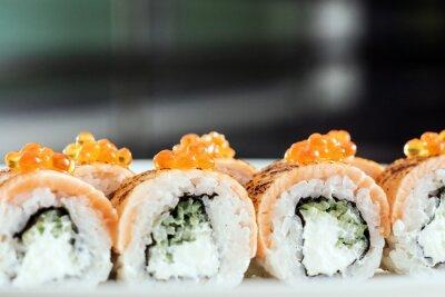 Canvas print tasty sushi