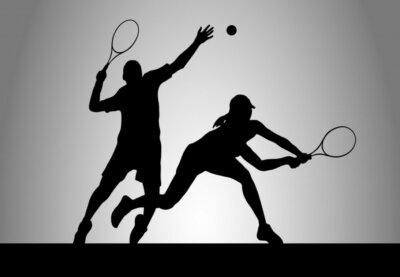 Canvas print Tennis - 175