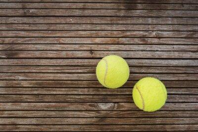 Canvas print Tennis Balls