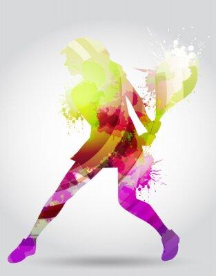 Canvas print Tennis, competizione, torneo