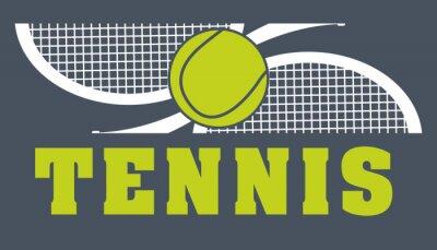 Canvas print tennis sport