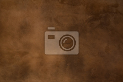 Canvas print Texture of a orange brown concrete as a background, brown grungy wall - Great textures for background