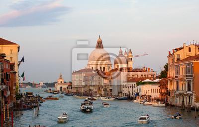 The Basilica of St Mary of Health, Venice