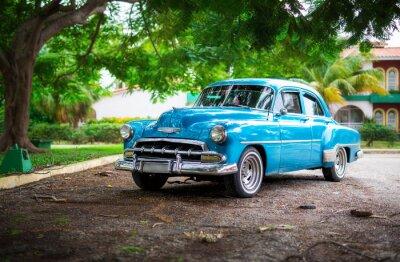 Canvas print The old Car on Cuba